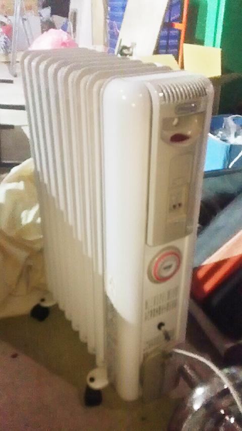暖房器具の廃棄