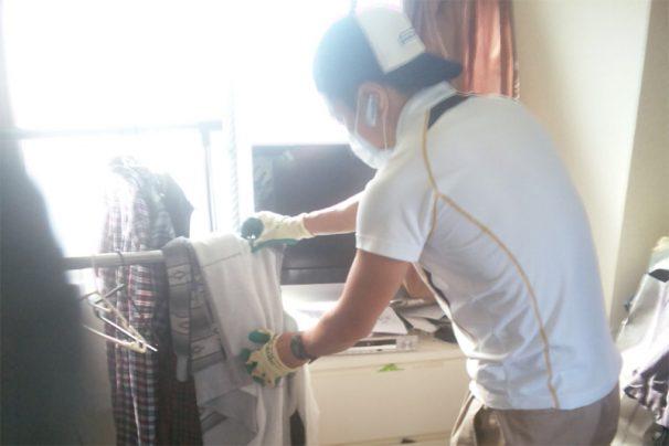掃除と不用品回収